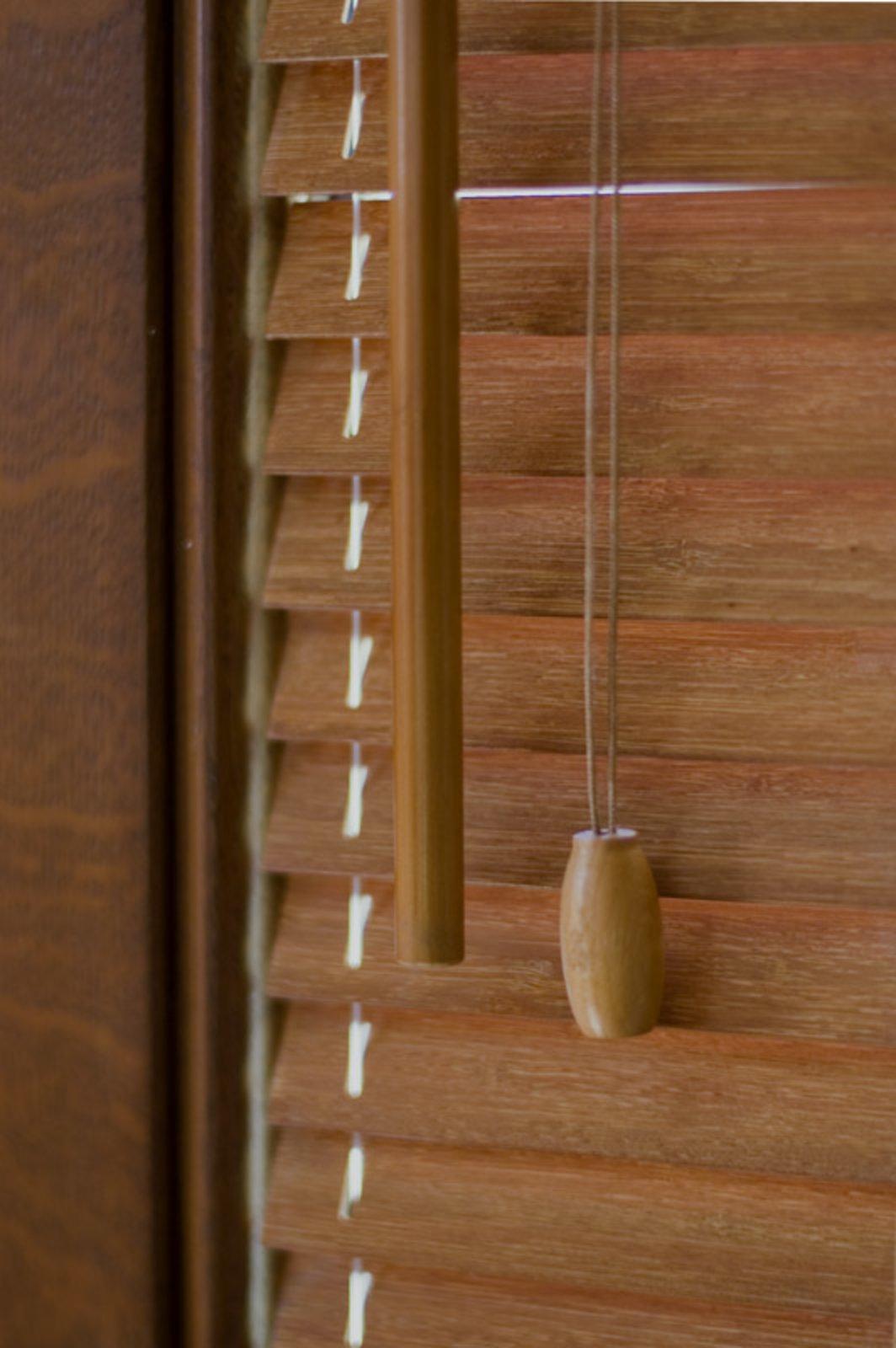 Bambusové žaluzie s šířkou 25 mm | K-SYSTEM